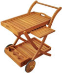 Möbelix Garten-Servierwagen Sun Flair B: 80 cm Braun