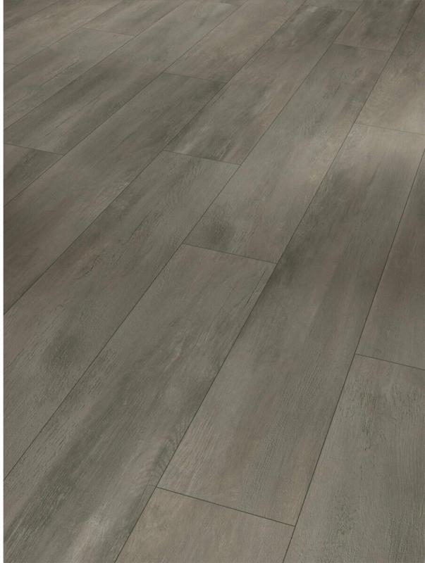 "Designboden ""Modular One"", Fusion black, Holzstruktur, 19,4x128,5 cm"