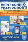 EURONICS XXL Varel GmbH Dein Technik-Team Vorort! - bis 03.02.2021