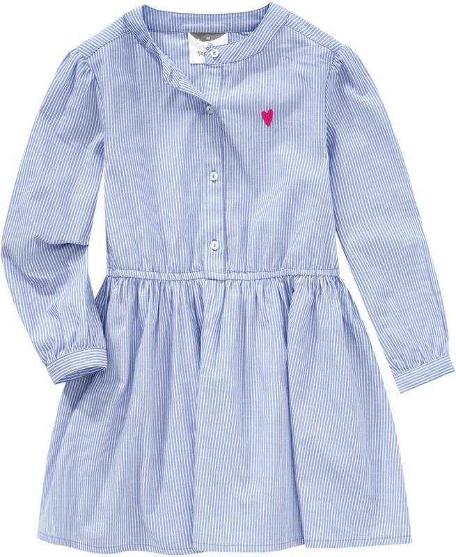 Mädchen Blusenkleid mit Stickerei (Nur online)