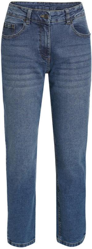 Damen Mom-Jeans mit Used-Waschung (Nur online)