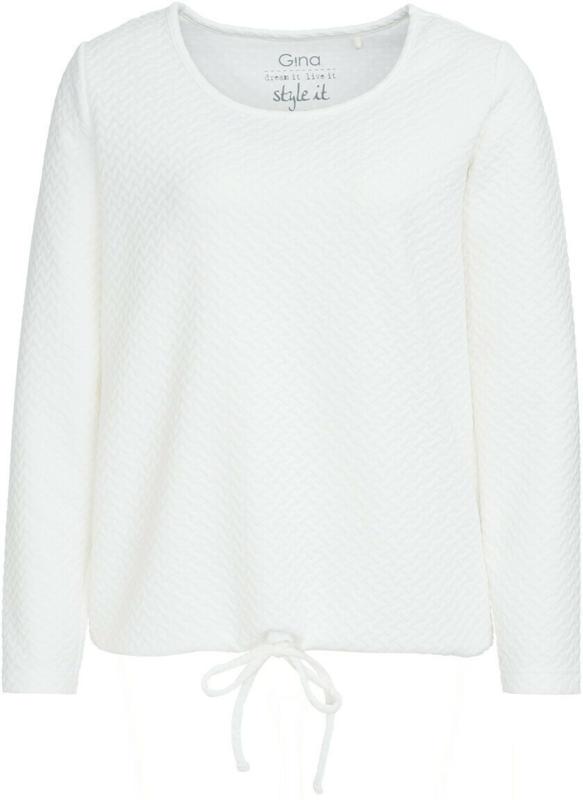 Damen Langarmshirt mit Flechtstruktur (Nur online)