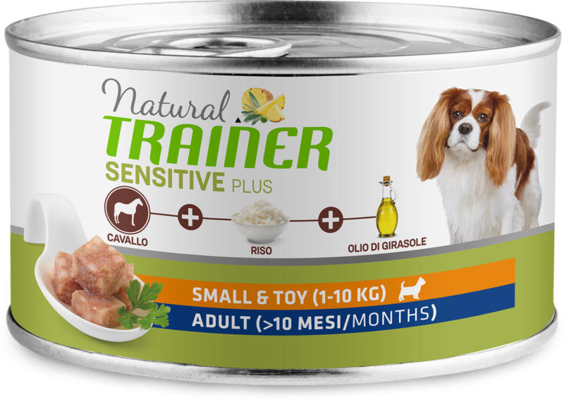 Trainer Hundefutter Sensitive Plus Small & Toy Adult Pferd 150g