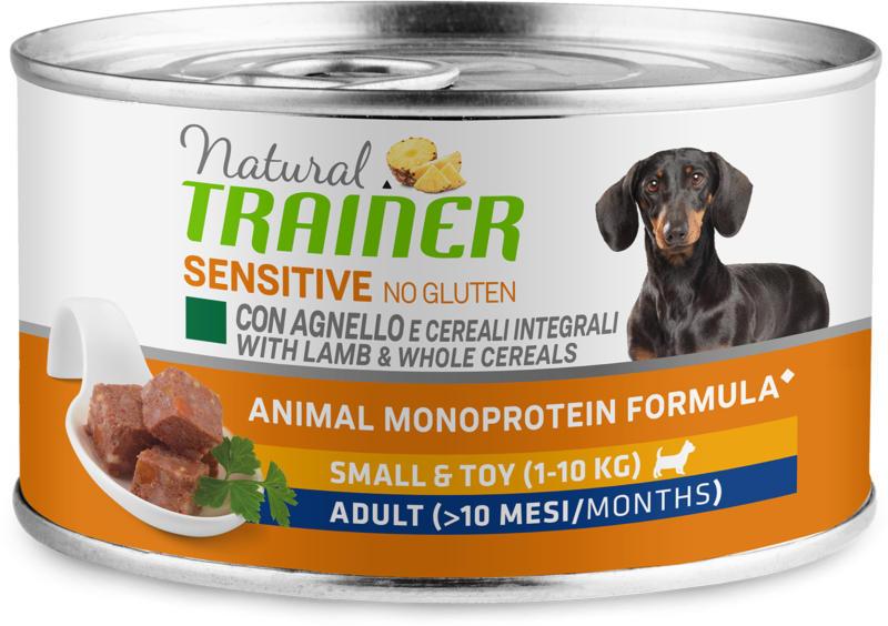 Trainer Nourriture pour chien Sensitive No Gluten Small & Toy Adult Agneau 150g