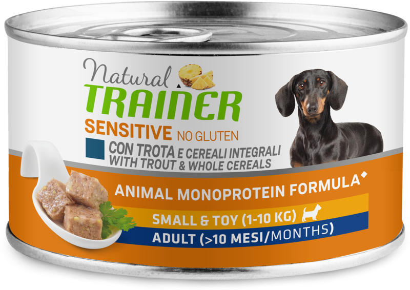 Trainer Hundefutter Sensitive No Gluten Small & Toy Adult Forelle 150g