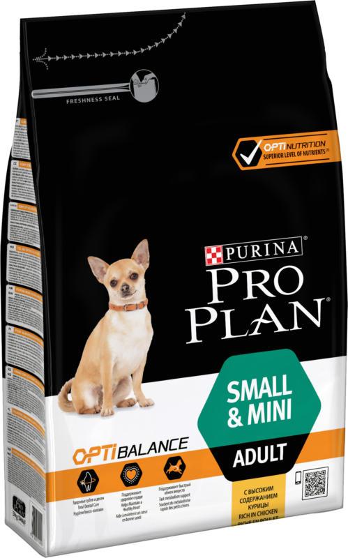 Pro Plan Adult Small & Mini Poulet & Riz 3kg