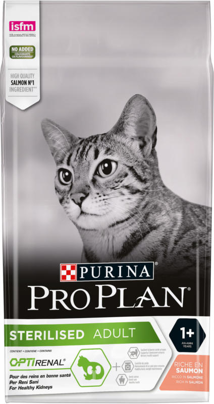 Pro Plan Sterilised Cat Saumon 3kg