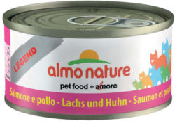 Almo Nature Chat Saumon & Poulet 24x70g