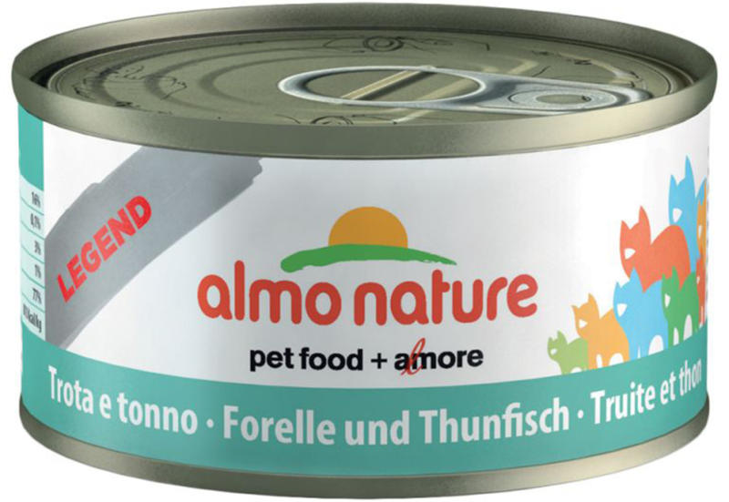 Almo Nature HFC Jelly Forelle & Thunfisch Dose 70g