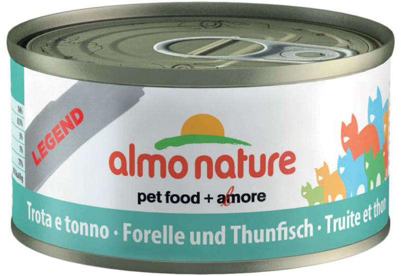 Almo Nature Chat Truite & Thon 24x70g