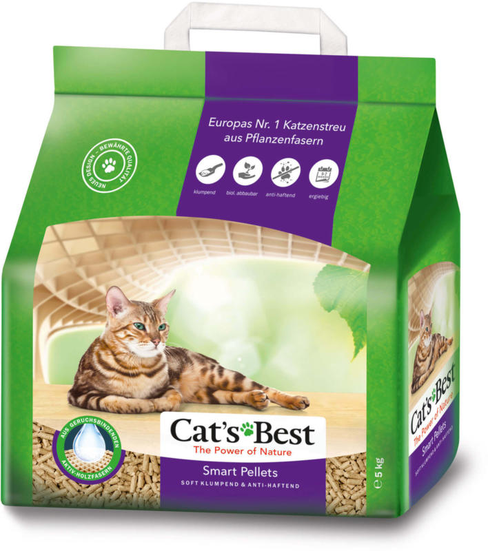 Cat's Best Smart Pellets Katzenstreu klumpend 10L