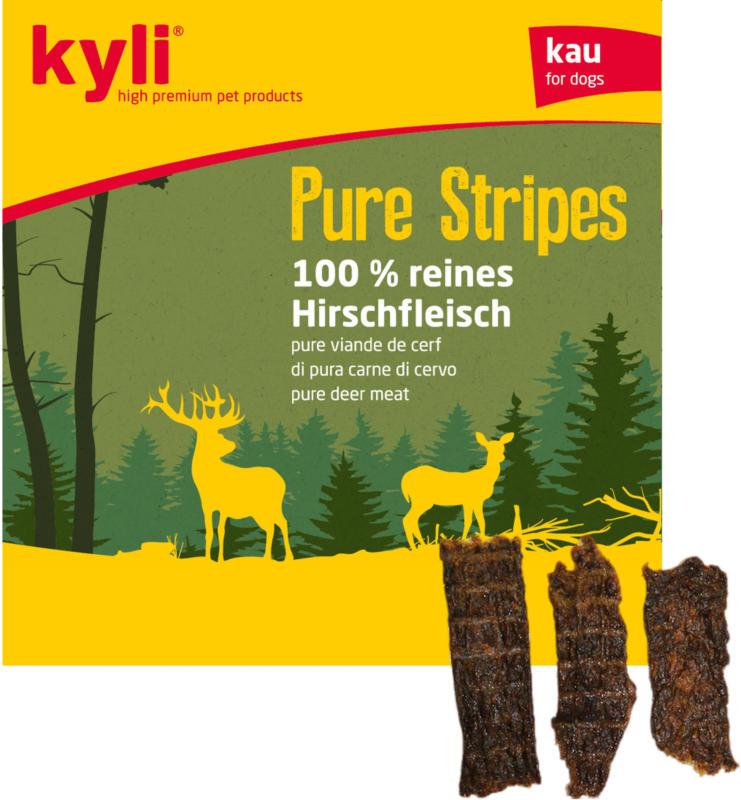 kyli Pure Stripes Hirschfleisch 250g