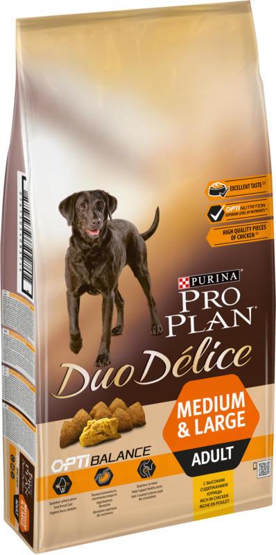 Pro Plan Dog Duo Délice Adult Poulet 10kg