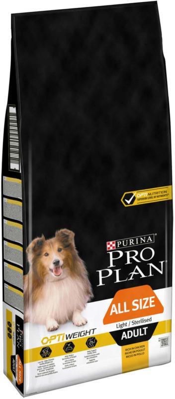 Pro Plan Dog Adult Light/Sterilised OPTI WEIGHT Poulet 14kg
