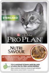 Pro Plan Cat Nutrisavour Sterilised Boeuf 24x85g