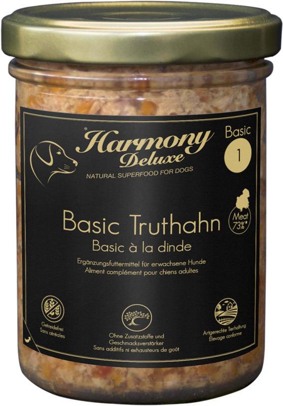 Harmony Dog Deluxe Basic Truthahn 800g