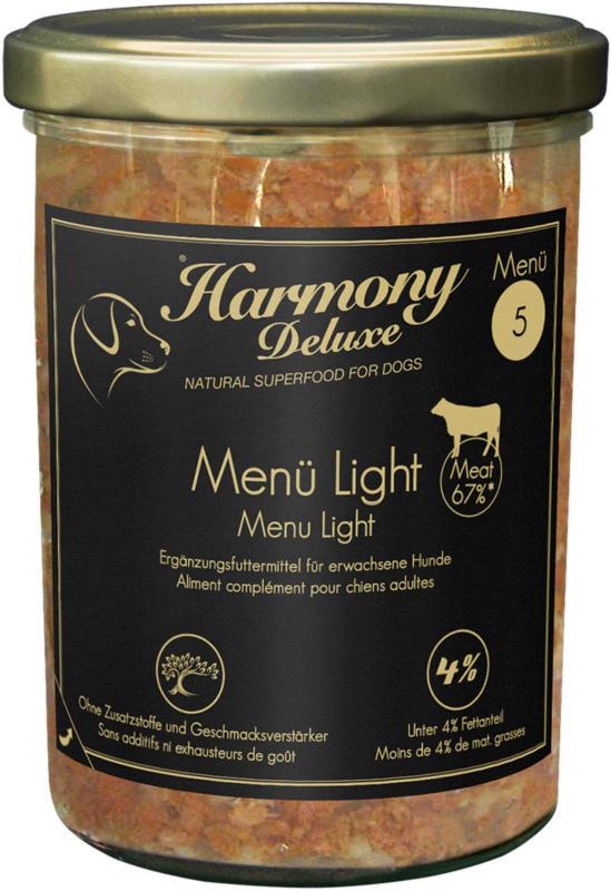 Harmony Dog Deluxe Menü Light 200g