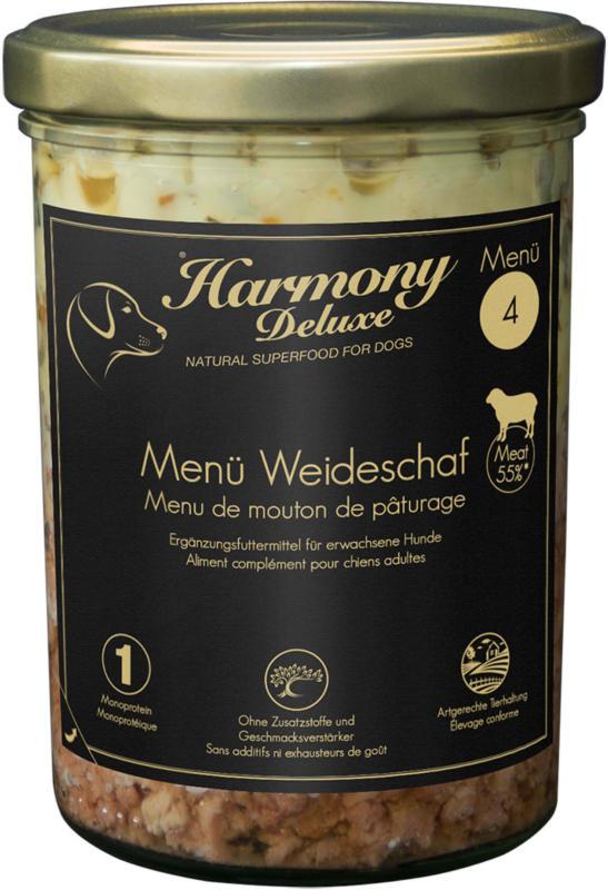 Harmony Dog Deluxe Menü Weideschaf 800g