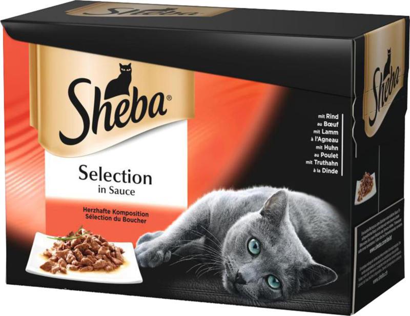 Sheba Sélection du boucher 4x12x85g
