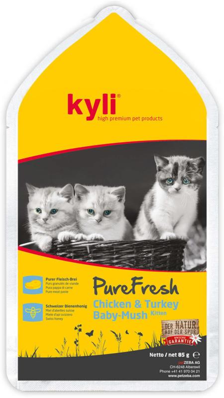 kyli PureFresh Kitten Chicken & Turkey 85g