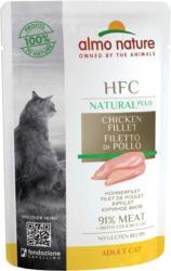 Almo Nature HFC Natural Plus Hühnerfilet 24x55g