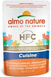 Almo Nature HFC Jelly Hühnerfilet & Käse 24x55g
