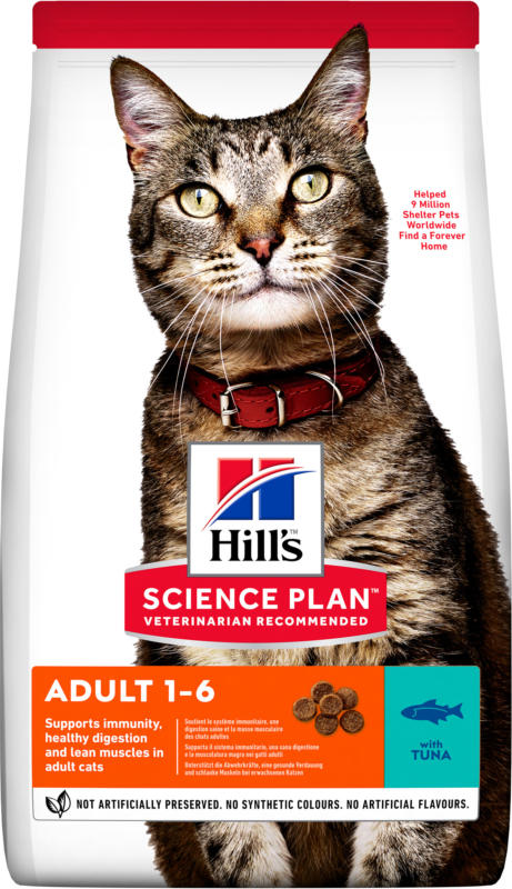 Hill's Katze Science Plan Adult Trockenfutter Thunfisch - 10kg
