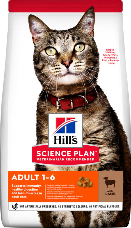 Hill's Chat Science Plan Adult Agneau & Riz 3kg