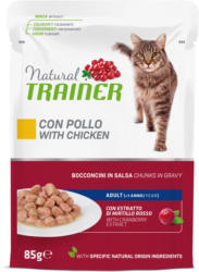Trainer Katzenfutter Huhn in Sauce 12x85g