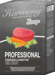 Harmony Cat Professional Katzensuppe Thunfisch & Karotten 12x4x40g