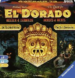 RAVENSBURGER Wettlauf nach El Dorado - Helden und Dämonen Gesellschaftsspiele, Mehrfarbig