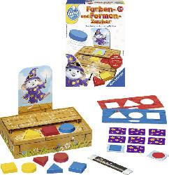 RAVENSBURGER Farben- und Formen-Zauber Spielen und Lernen, Mehrfarbig
