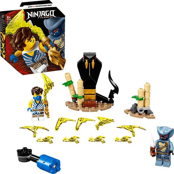 LEGO 71732 Battle Set: Jay vs. Serpentine Bausatz, Mehrfarbig