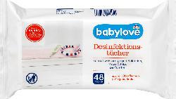 babylove Desinfektionstücher