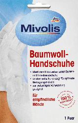 Mivolis Baumwoll-Handschuhe