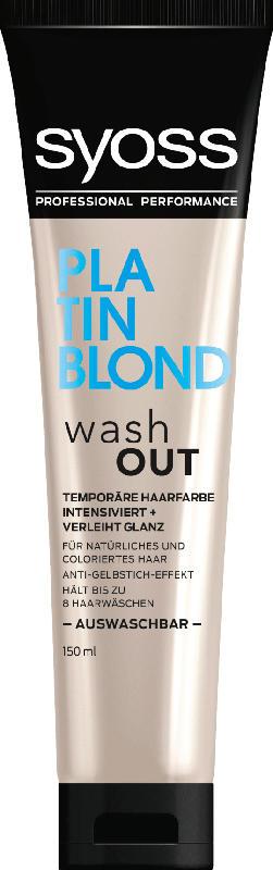 Syoss Tönung washout Platin Blond
