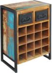 Möbelix Weinregal Faro B: 53 cm Recyclingholz