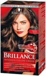 Schwarzkopf Brillance Coloration Intense Brun foncé 880 -