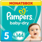 OTTO'S Pampers Baby Dry t. 5, 11-16 kg, conf. mensile, 144 pannolini -