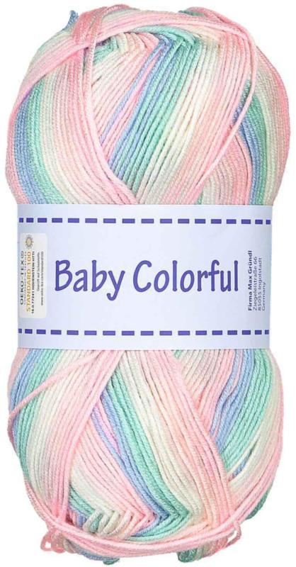 Gründl Yarn Baby Colorful multicolore 100 g -