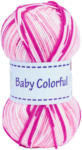 OTTO'S Gründl Garn Baby Colorful pink/rose multicolor 100 g -