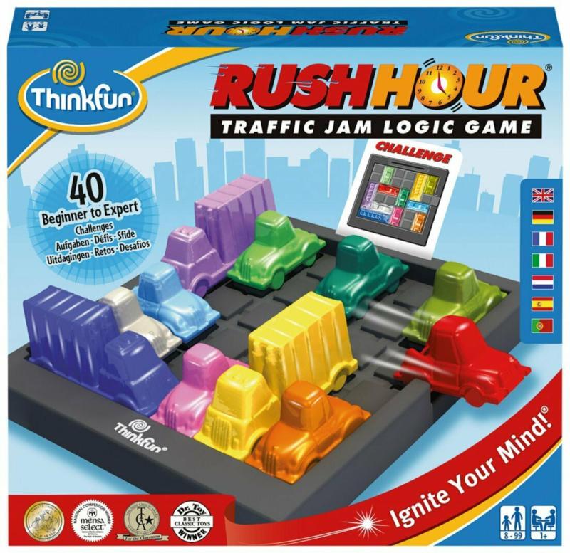 Thinkfun Rush Hour D/F/I -