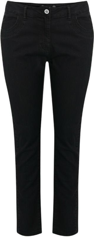 Damen Slim-Jeans mit Galonstreifen (Nur online)