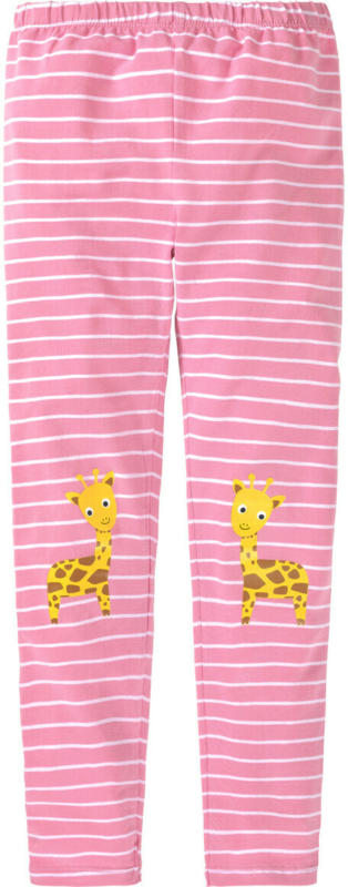 Mädchen Leggings mit Giraffen-Motiv (Nur online)