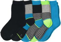 5 Paar Jungen Socken in verschiedenen Dessins (Nur online)