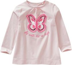 Mädchen Langarmshirt mit Schmetterling-Motiv (Nur online)