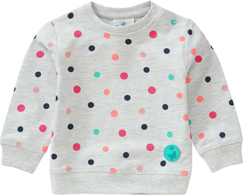 Baby Sweatshirt mit Punkte-Allover (Nur online)