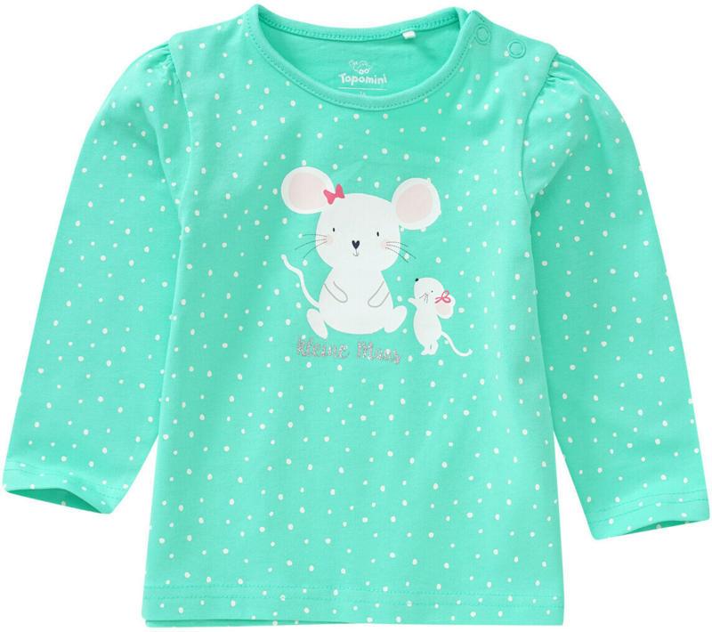 Baby Langarmshirt mit Mäuse-Motiv (Nur online)