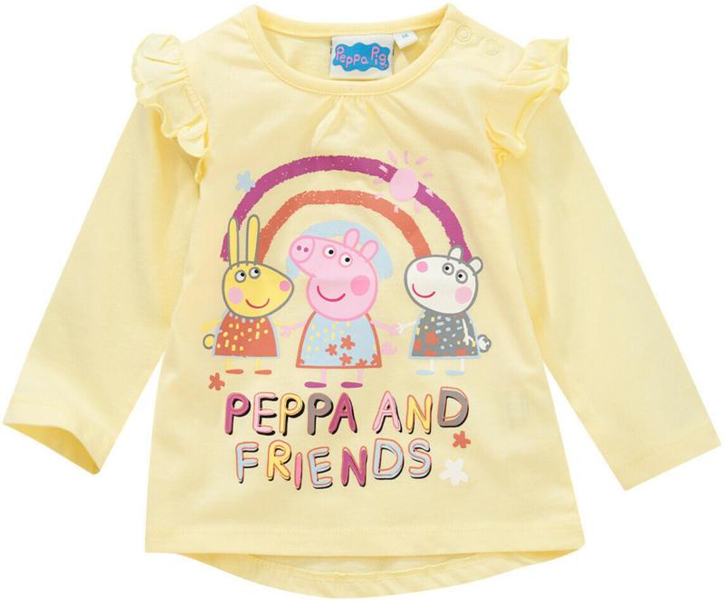 Peppa Pig Langarmshirt mit Rüschen (Nur online)