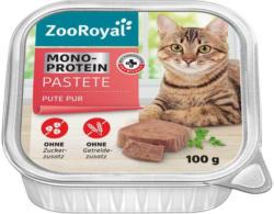 ZooRoyal Pastete Pute Pur Mono-Protein
